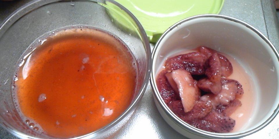 苺の酵素を手作りしました!写真と作り方つき