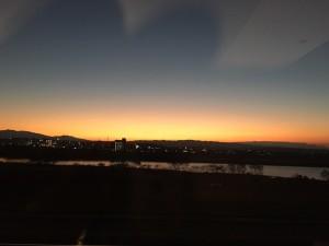 宮崎の大淀川の夕焼けと思うこと