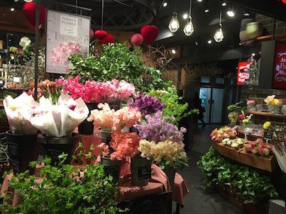 福岡天神の花屋さんウォッチング