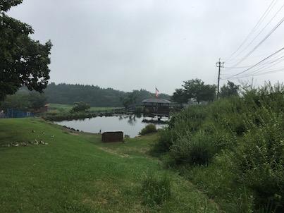ガンジーファームのふれあい広場と赤川温泉スパージュ