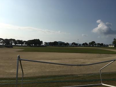 門川町の海浜運動公園に行きました。