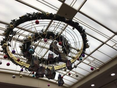 福岡三越と天神地下街のクリスマスイルミネーション2017