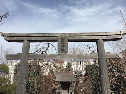 博多駅屋上の鉄道神社に行ってみました!