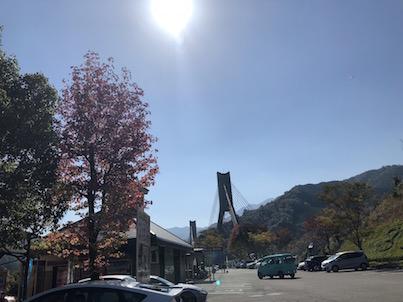 道の駅「宇目」と「みえ」2018年10月の紅葉やハロウィン