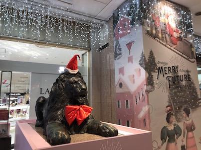2018年福岡天神三越・イムズ・大丸のクリスマスツリーなど