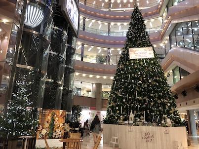 2019年福岡天神のクリスマスツリーとイルミネーション他