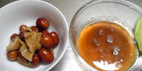 ナツメと梨の手作り酵素!完成まで作り方写真付きで体験